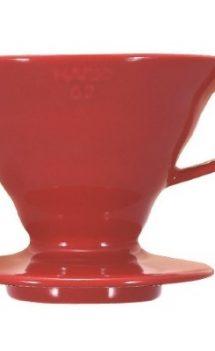 Dripper Hario ceramic rosu